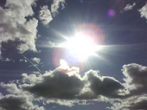 Nice Day-Sunshine and Clouds